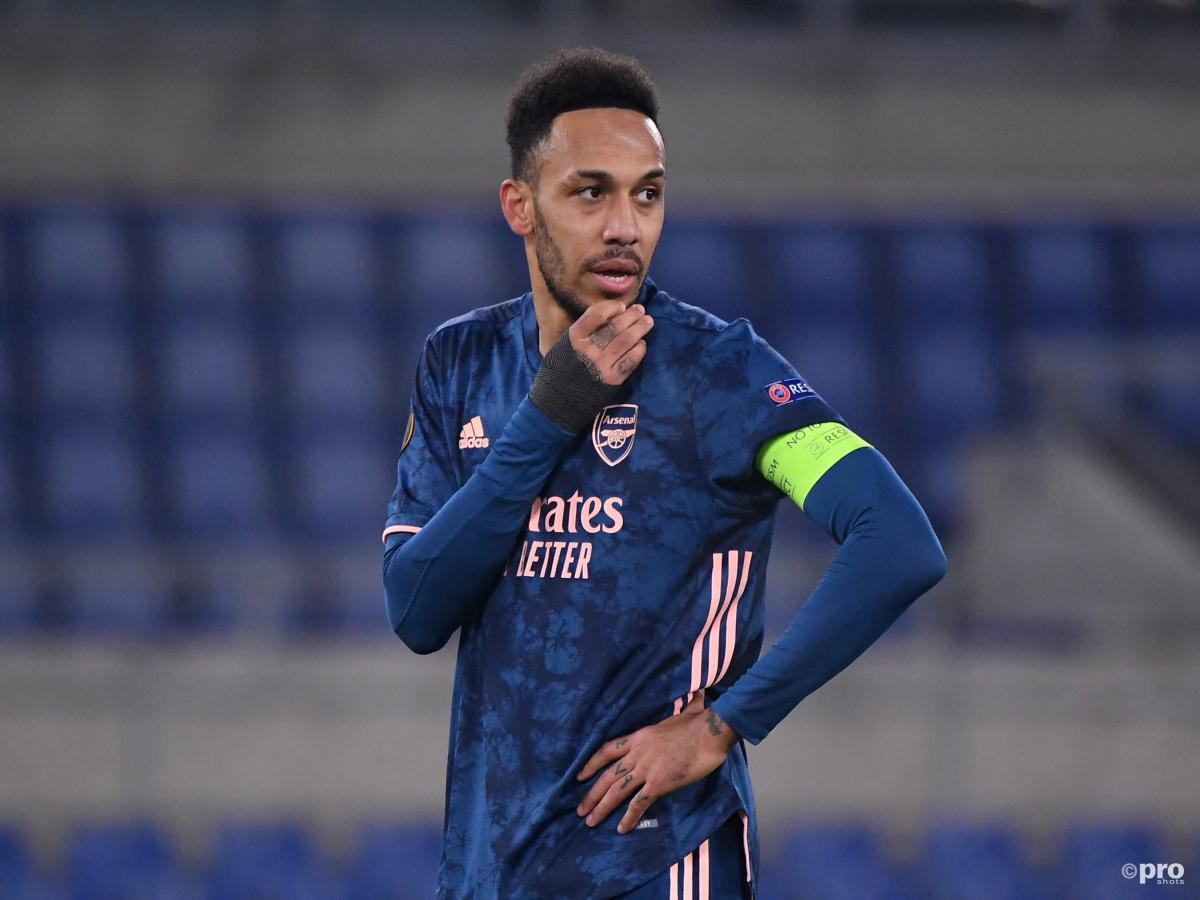 Aubameyang's Europa League attitude criticised: 'He's got to turn up'