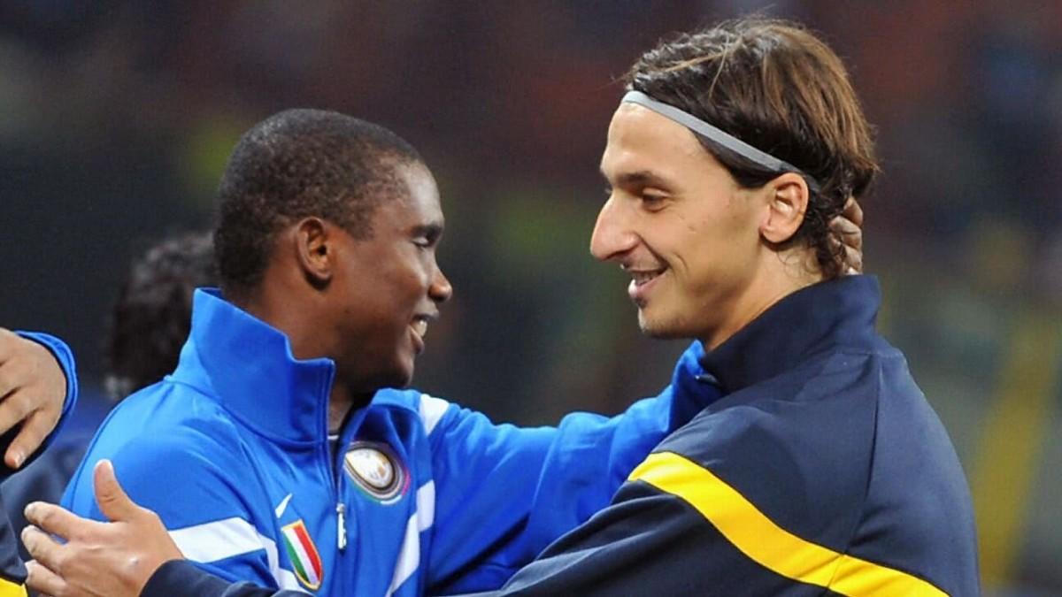 Eto'o and Ibrahimovic swap deal involving Barcelona and Inter
