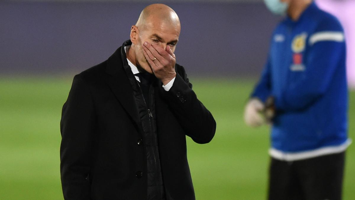 Real Madrid wouldn't let me build a new squad, claims Zinedine Zidane
