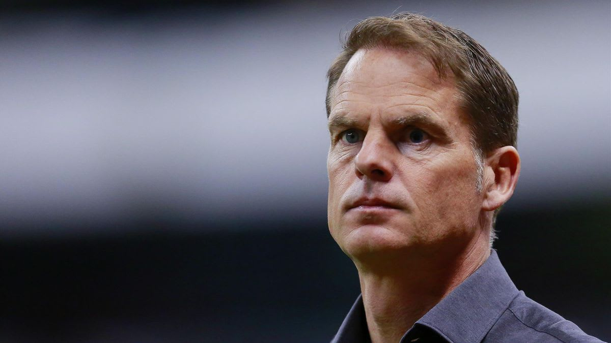 Frank de Boer has stepped down as Netherlands manager