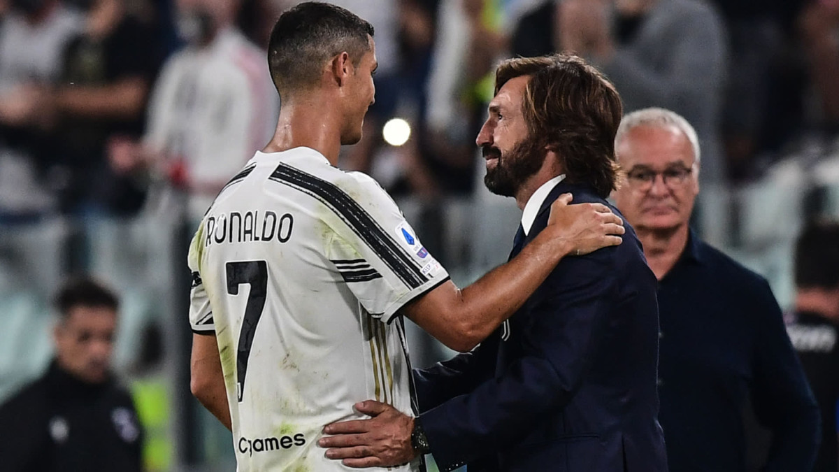 Ronaldo is committed to Juventus and doesn't want to leave, claims Pirlo