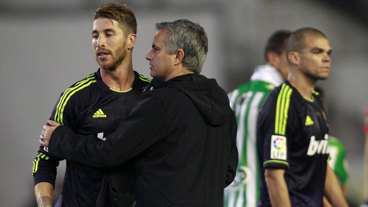 Sergio Ramos, Jose Mourinho, Real Madrid