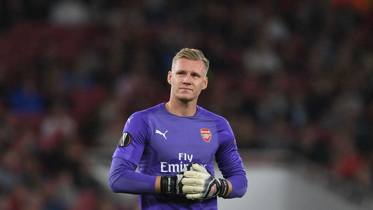 Nobody in the Arsenal dressing room wants to leave, says Bernd Leno