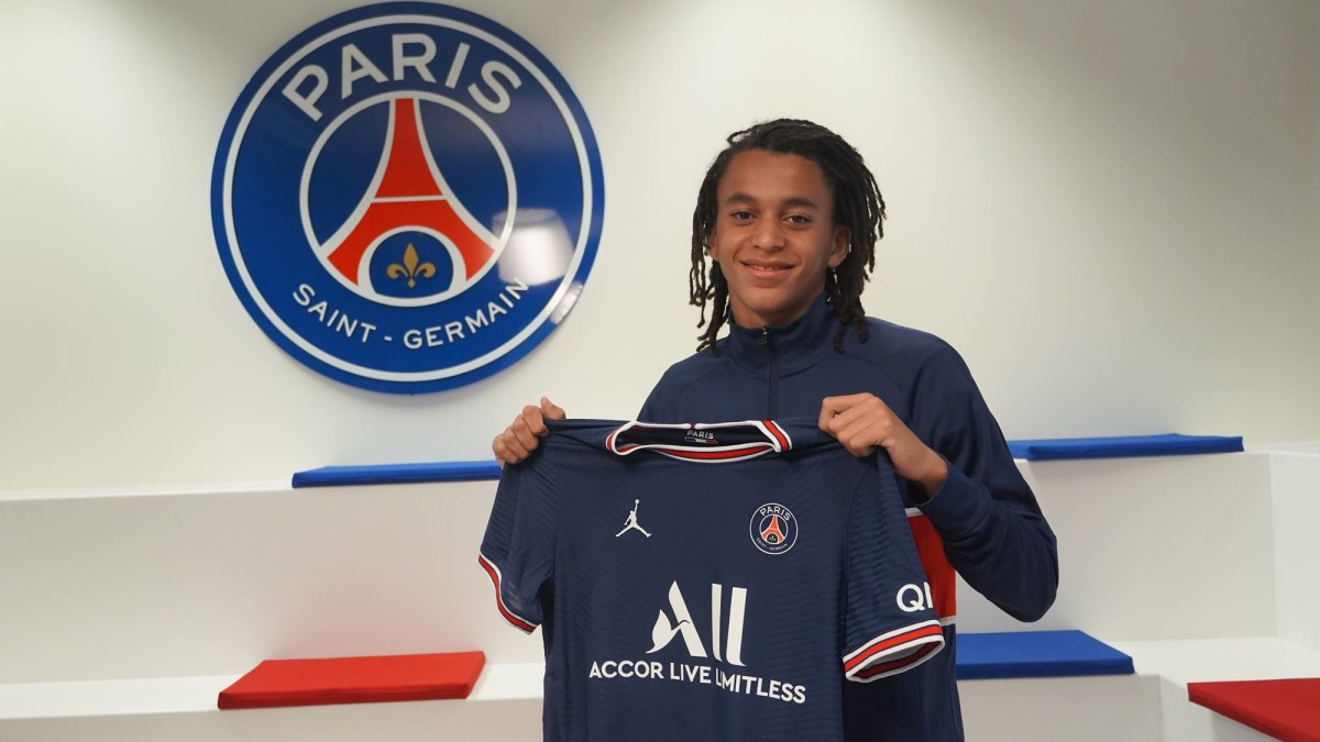Kylian Mbappe's brother Ethan has signed for the PSG youth academy