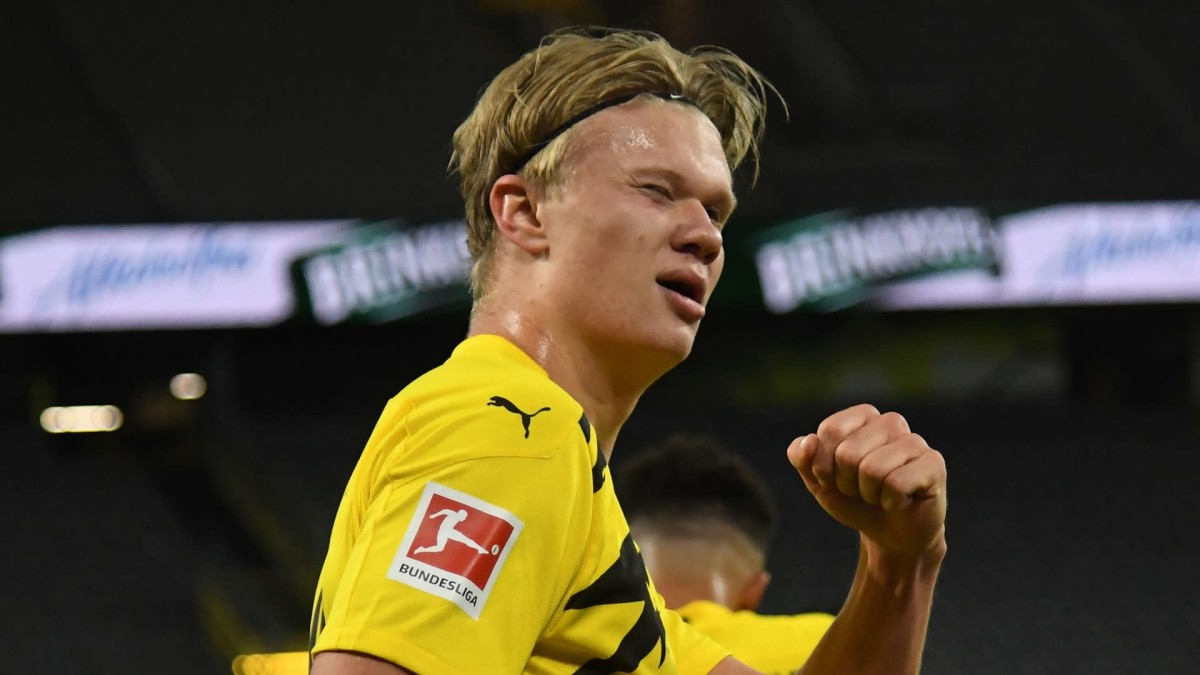 'A blind guy could realise he's a good striker' – Pep heaps praise on Haaland