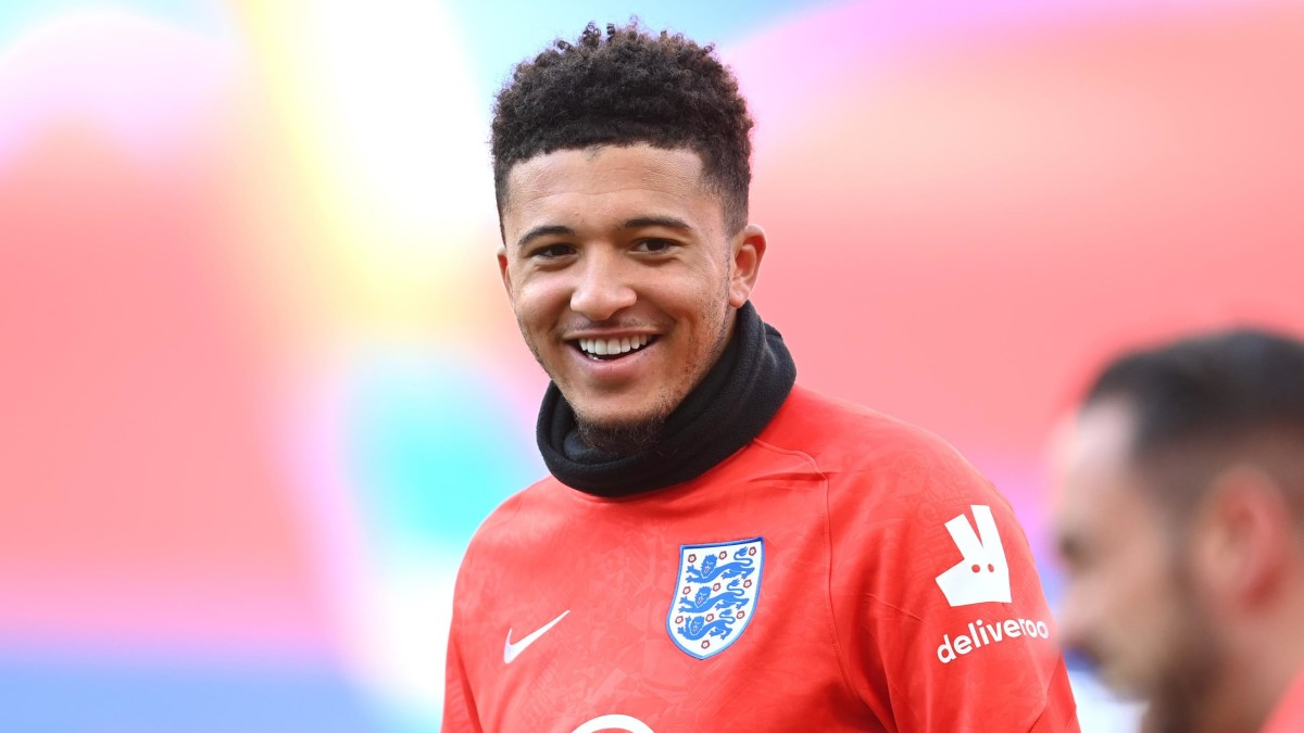 Jadon Sancho has been an unused talent for England at Euro 2020