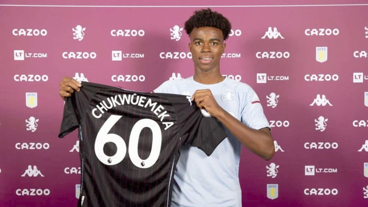 Who is Carney Chukwuemeka? The Aston Villa youngster loved by Grealish and wanted by Man Utd