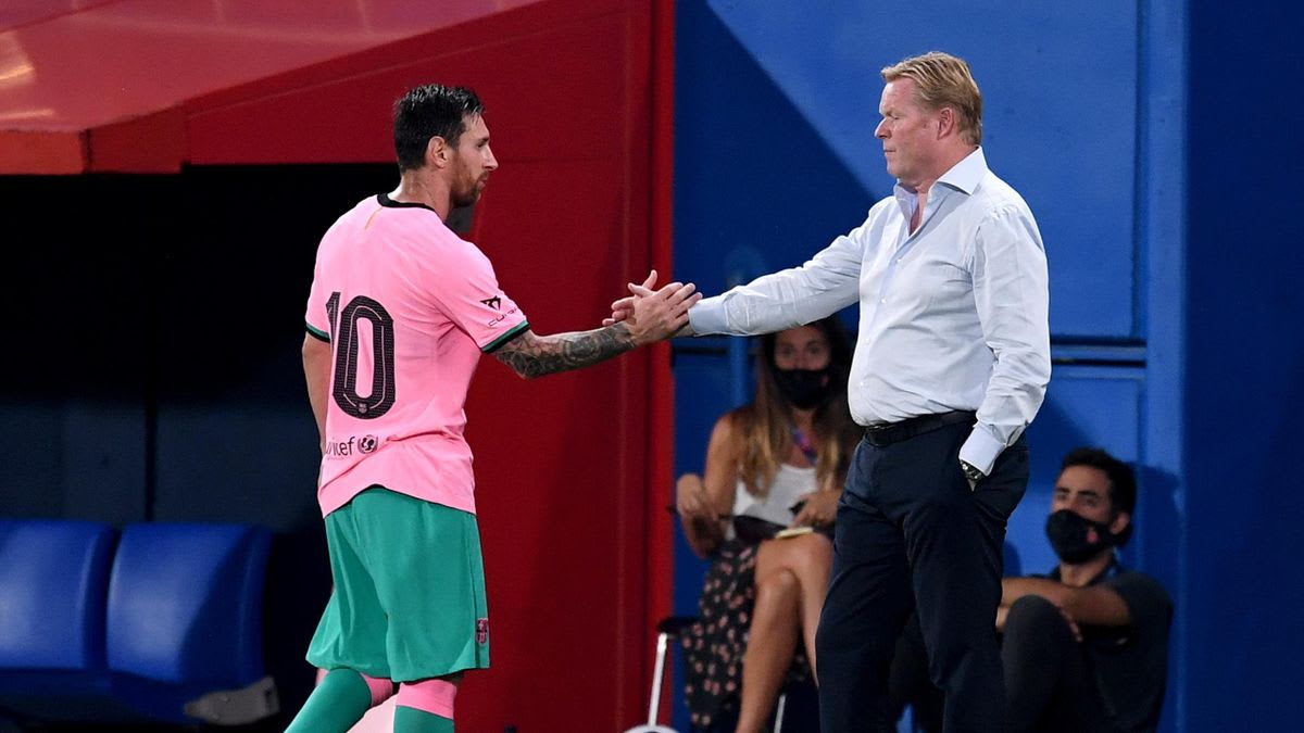 Koeman: Barcelona are better with Messi than without him