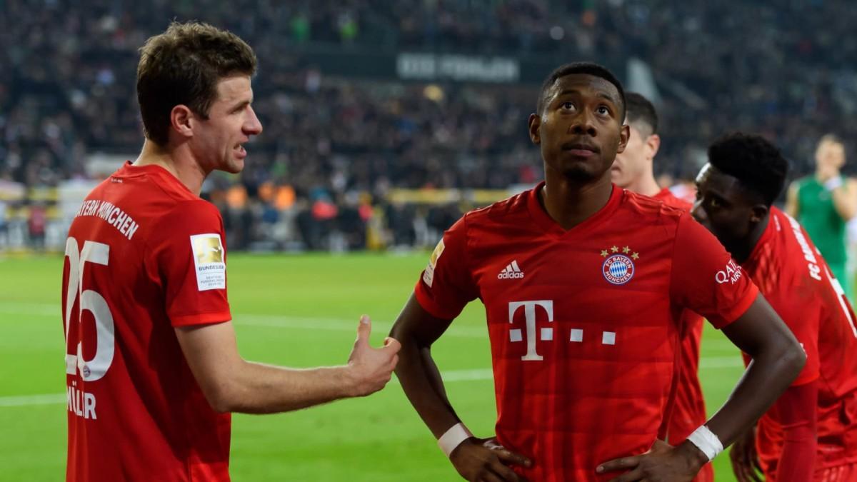 'I will kick your ass' – Muller sends Alaba hilarious farewell video as he departs Bayern
