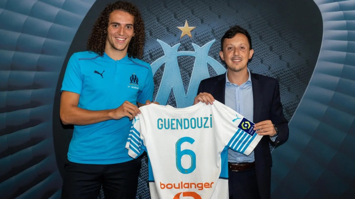 Arsenal's Matteo Guendouzi has signed on loan for Ligue 1 side Marseille