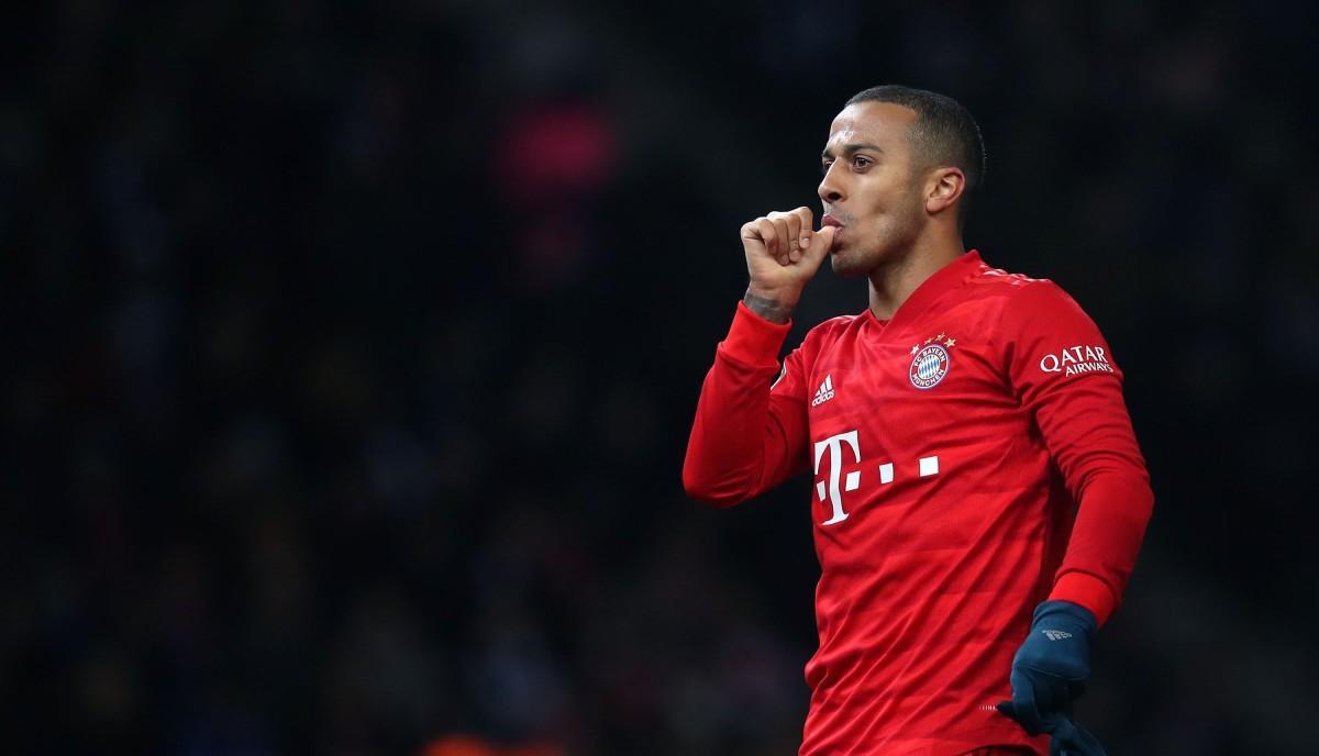 PSG defeat showed just how much Bayern Munich missed Thiago
