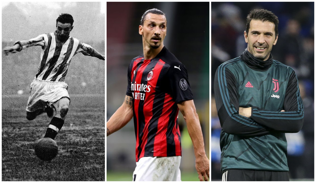 Ibrahimovic, Maldini, Giggs & the 15 best footballers to play into their forties