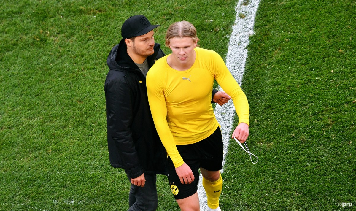 Haaland posts clear message to Dortmund fans after storming off pitch