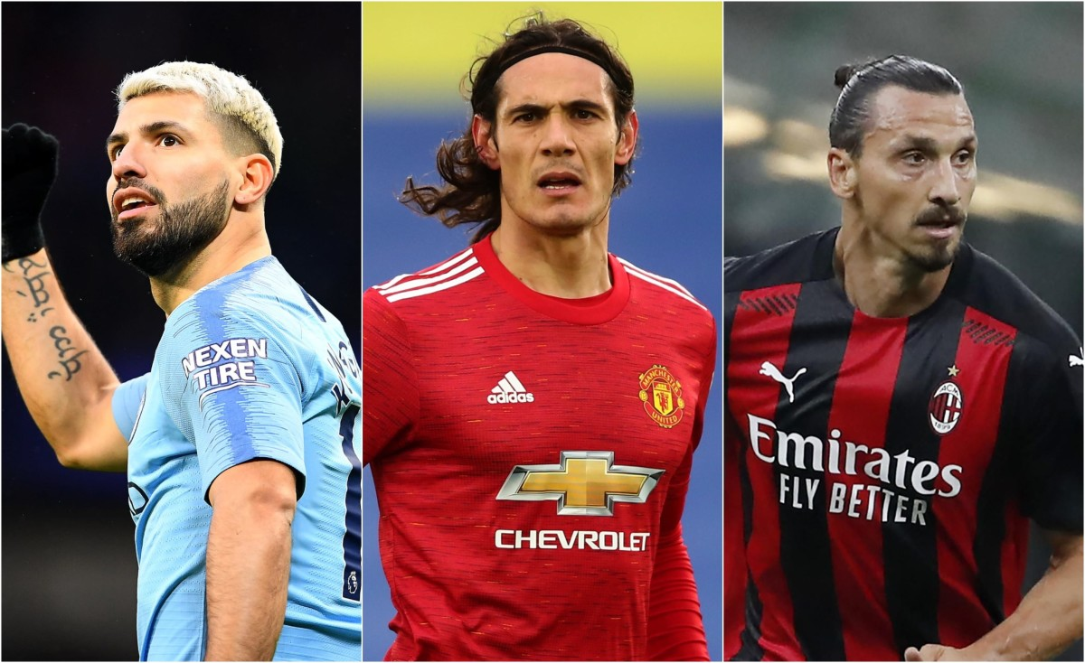 Cavani, Suarez, Lewandowski & the 10 best number nines of the last decade