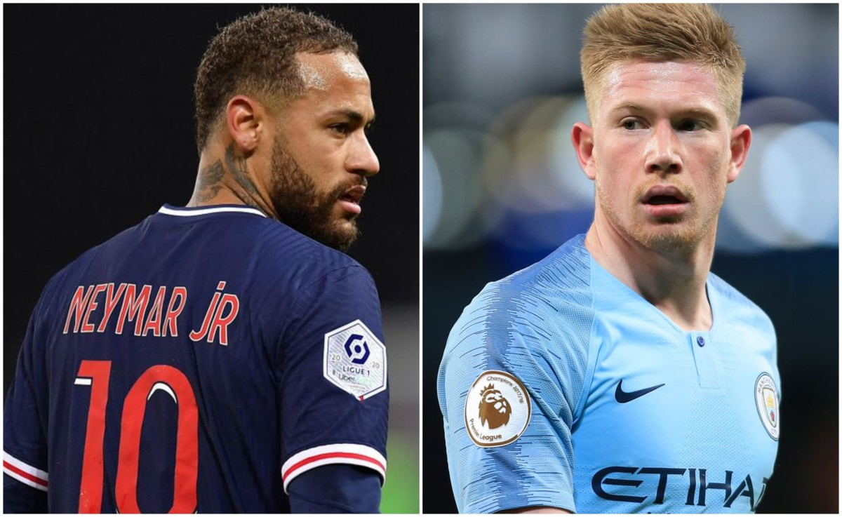 How Paris Saint-Germain and Manchester City spent £2.98bn on transfers