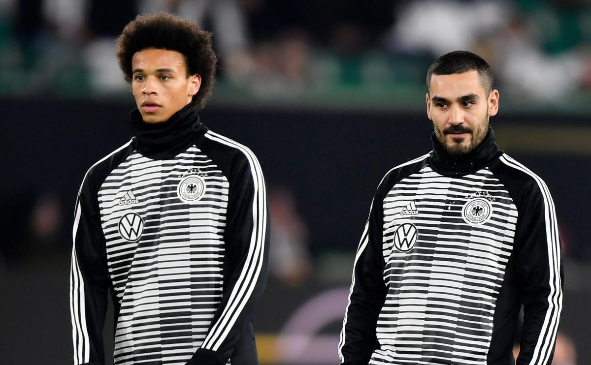 Leroy Sane and Ilkay Gundogan have both struggled for Germany