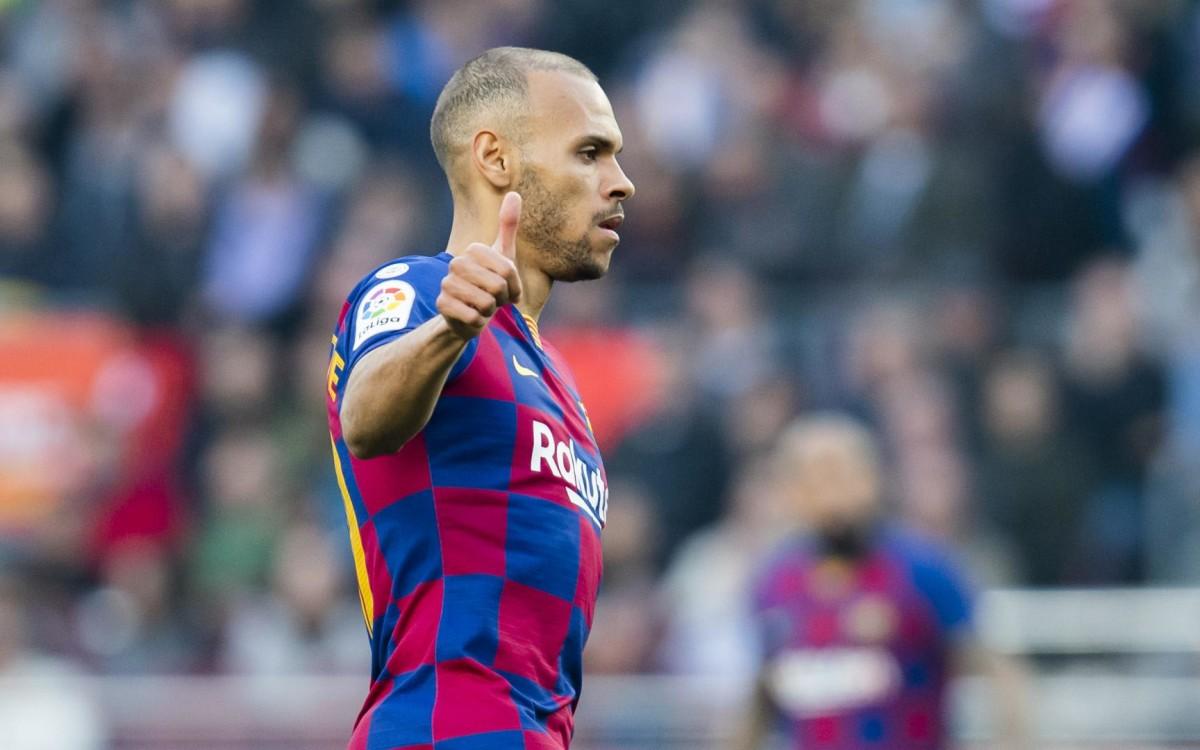 Barcelona must shift Braithwaite to sign Depay