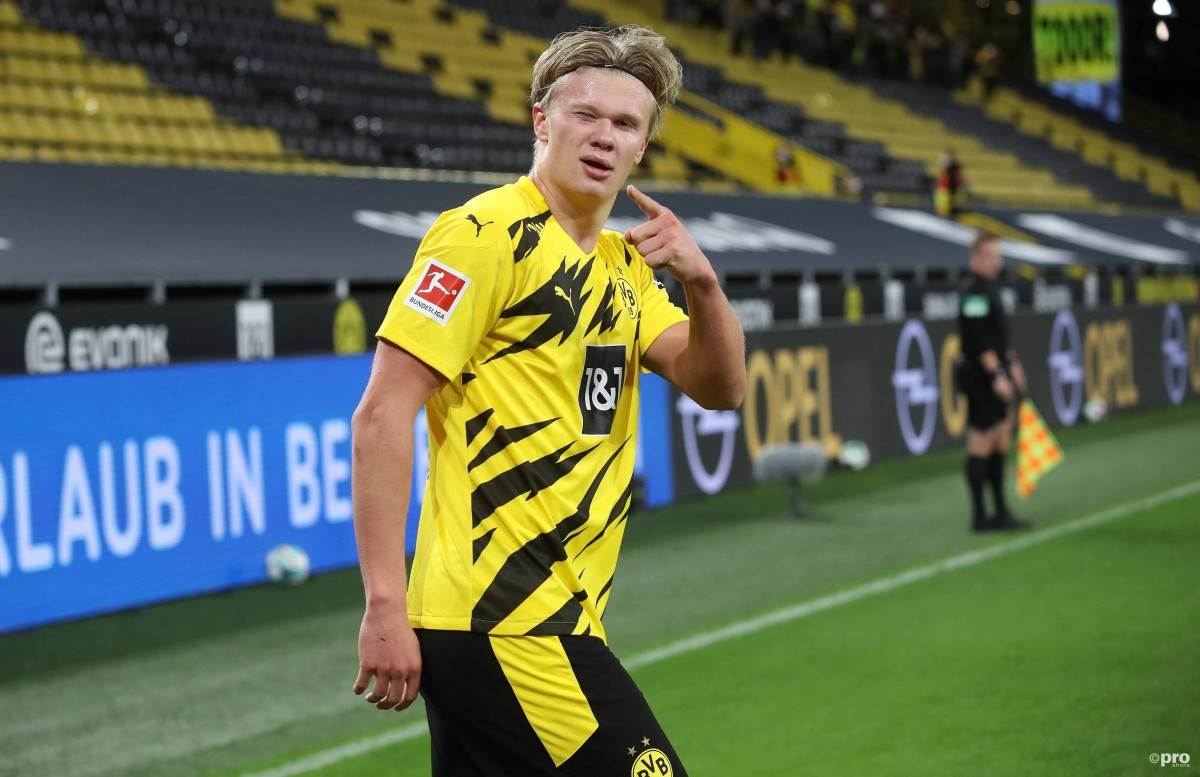 How Barcelona could line up next season with Erling Haaland