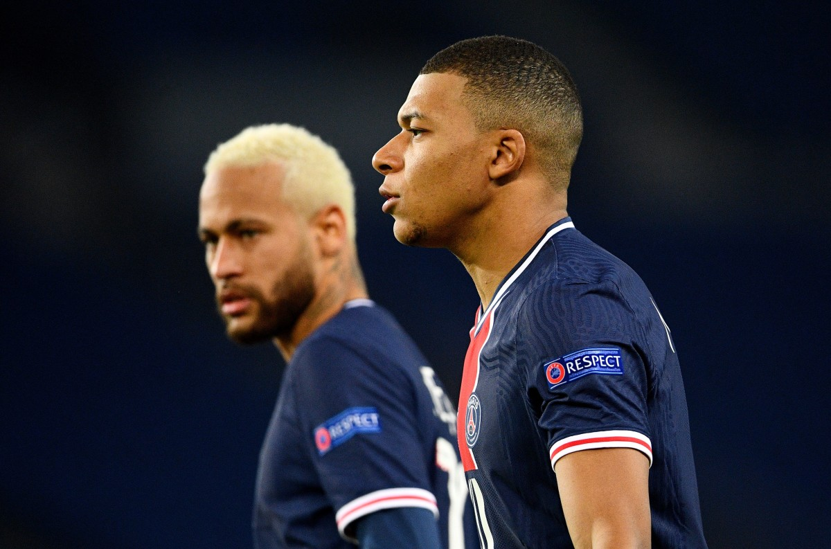 Neymar hails 'golden boy' Mbappe: I owe it to him I'm happy at PSG