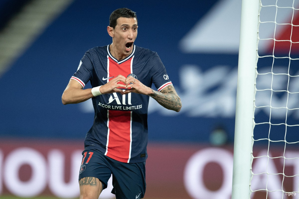 Angel Di Maria signs new PSG contract until 2022