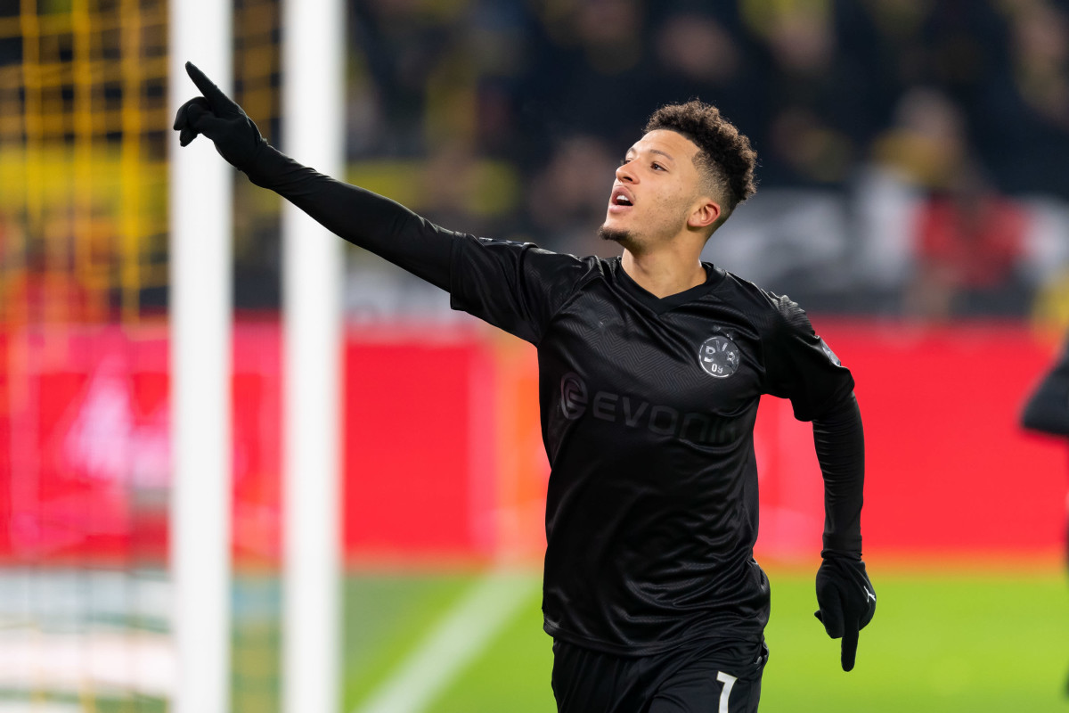 Jadon Sancho has completed his move to Manchester United