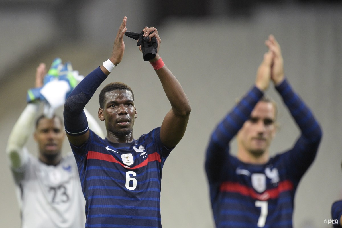A message for Ole? Pogba explains how Deschamps gets the best from him