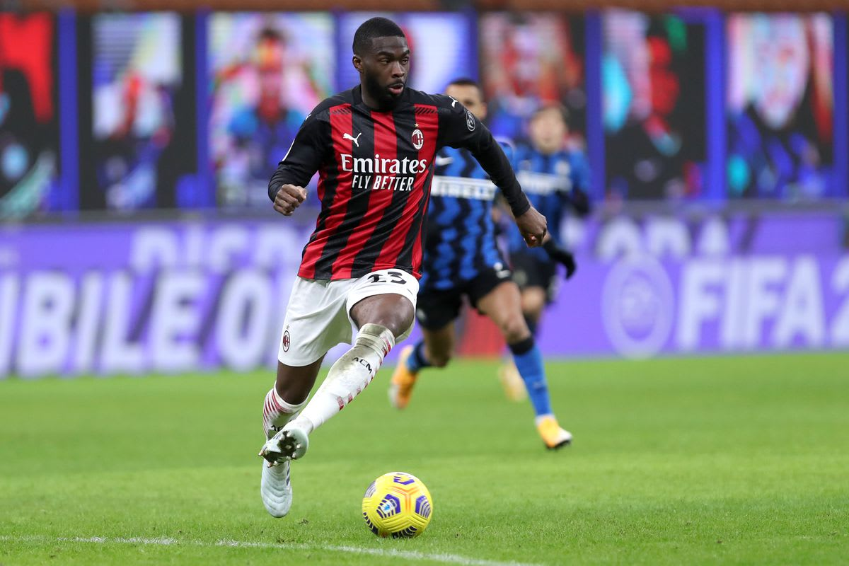 Milan suggest again that Chelsea's Tomori asking price is too expensive
