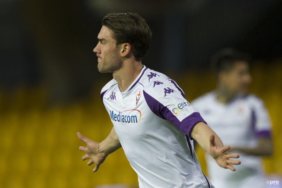 Who is Dusan Vlahovic? Fiorentina's Serbian striker interesting Arsenal