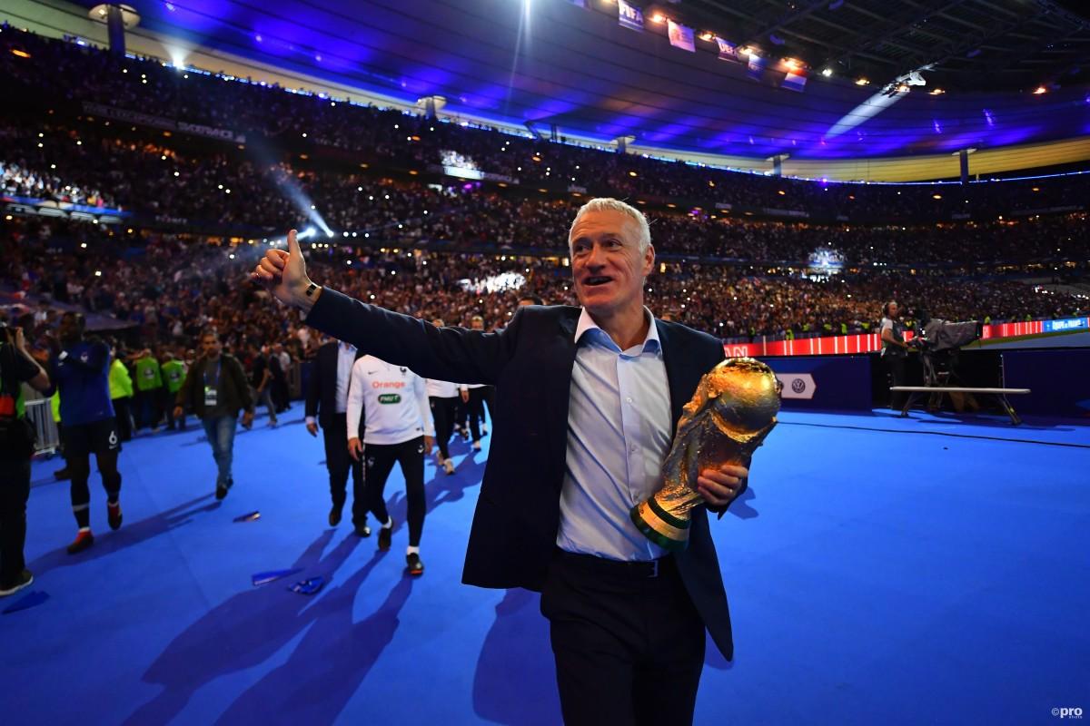 Didier Deschamps, France, 2018 World Cup