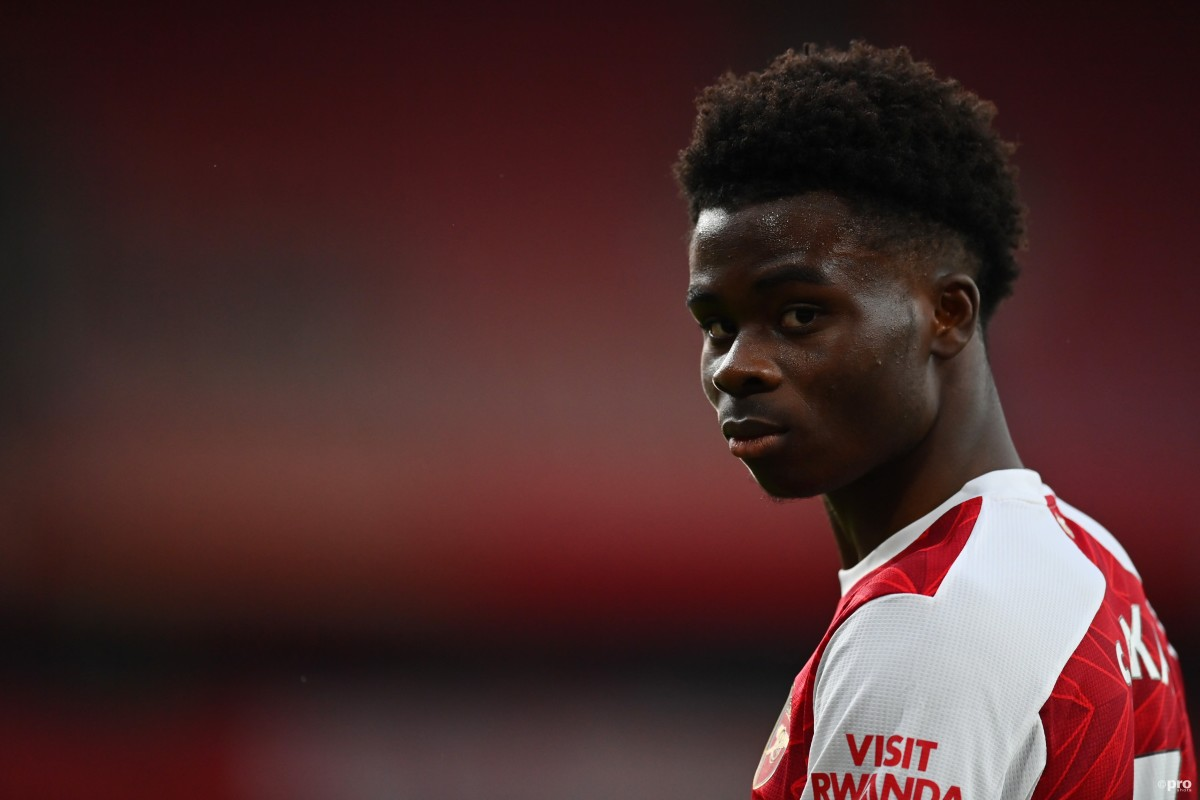 Saka believes he can achieve his dreams at Arsenal