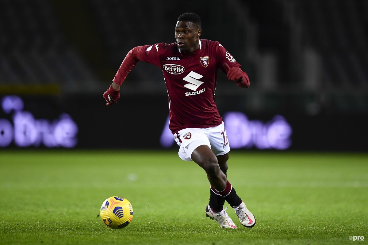 Who is Wilfried Singo? The flying Torino wing-back linked with Liverpool and Milan
