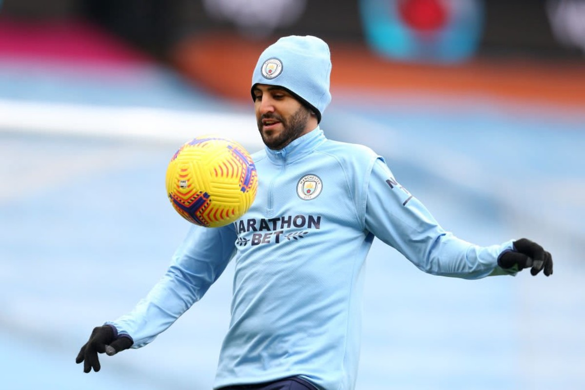 Could Riyad Mahrez leave Man City? The Algerian comments on his future