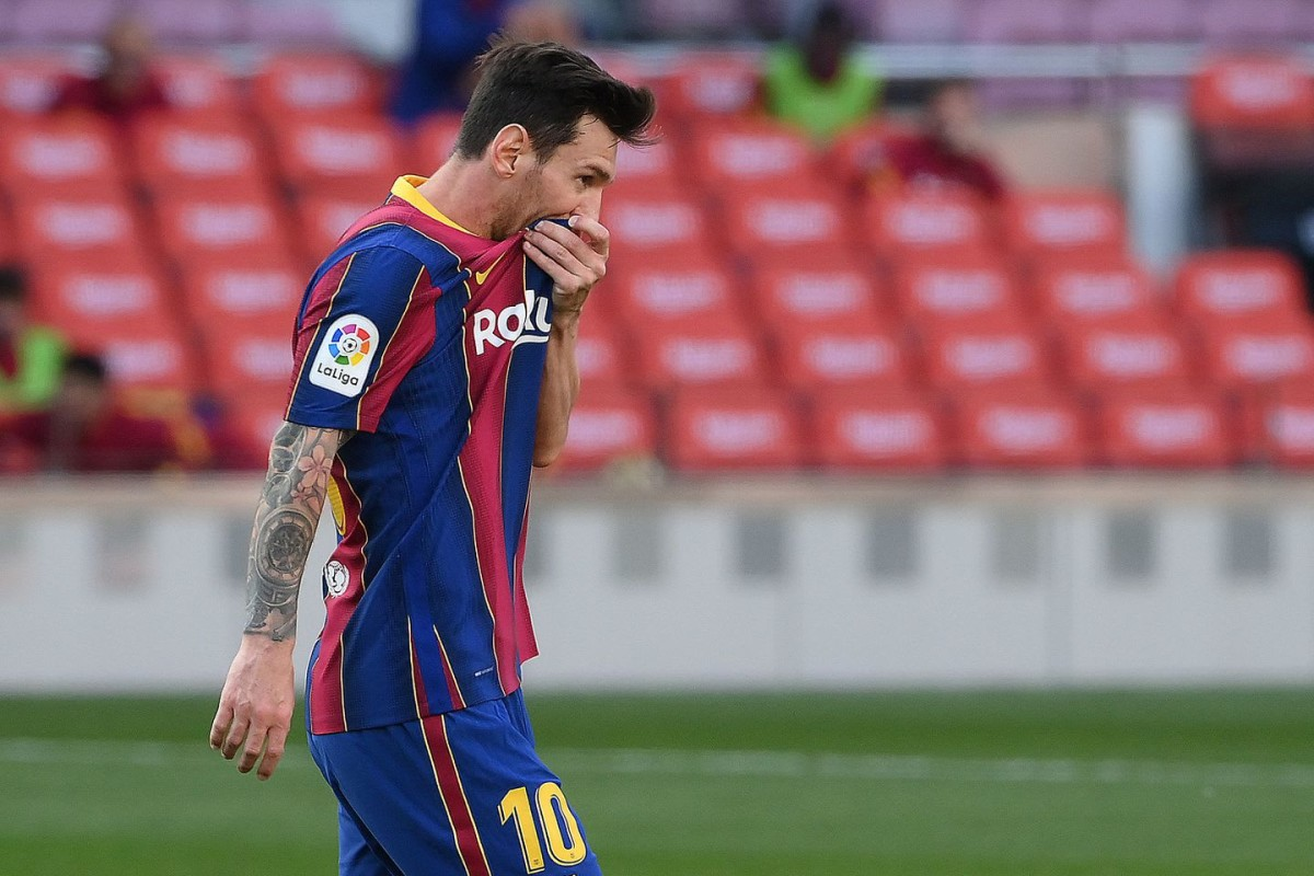 Lionel Messi may have already played his final game for Barcelona