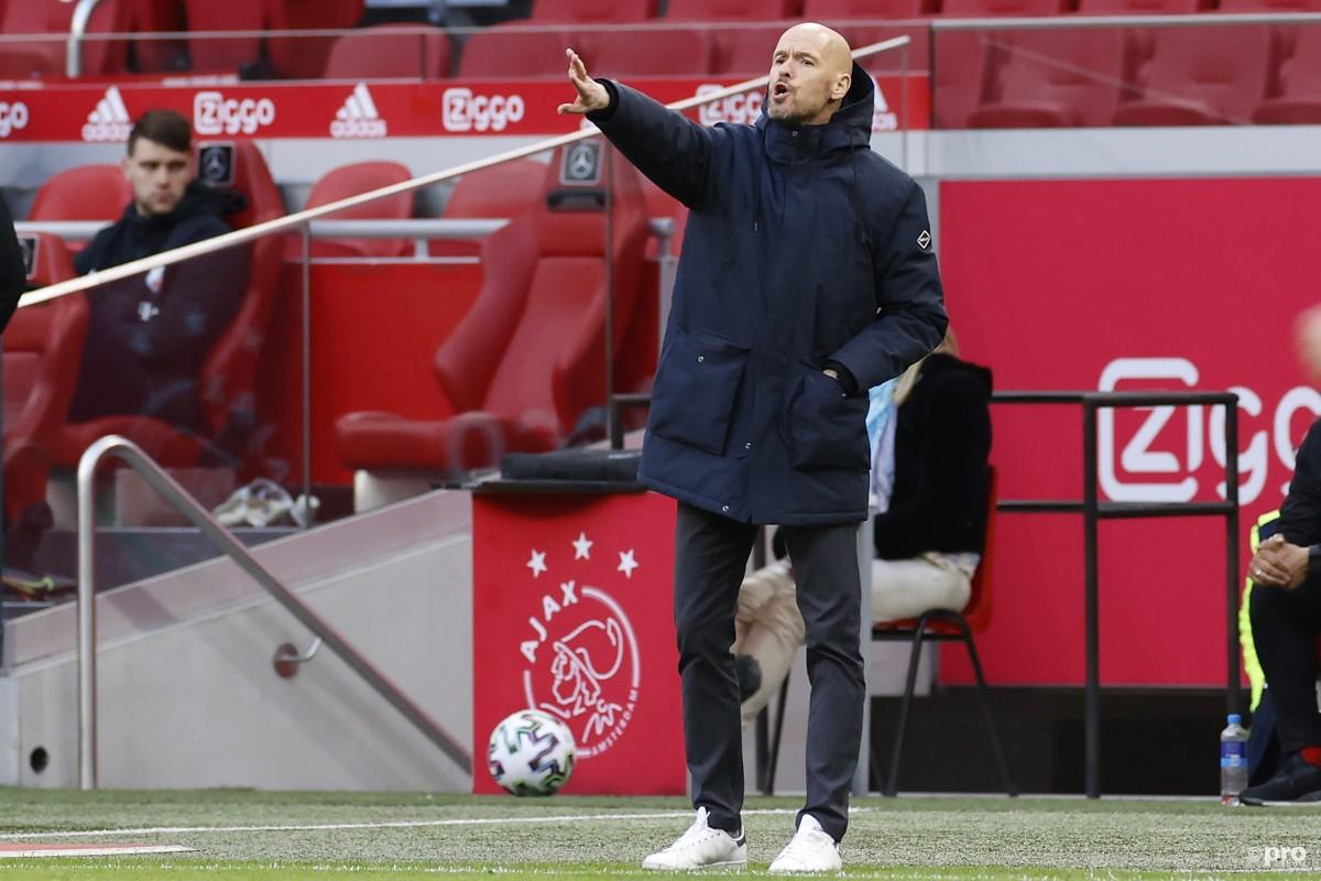 Tottenham target Erik ten Hag signs a deal to remain Ajax head coach