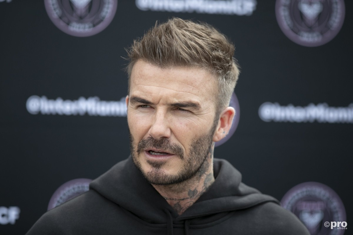 Beckham on Super League: 'Football is in danger and it must be protected'