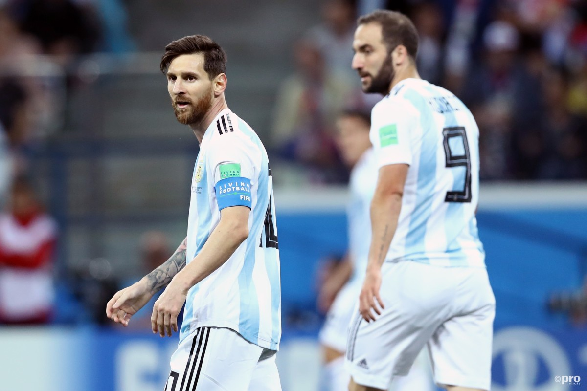 Higuain: I was Messi's best-ever team-mate