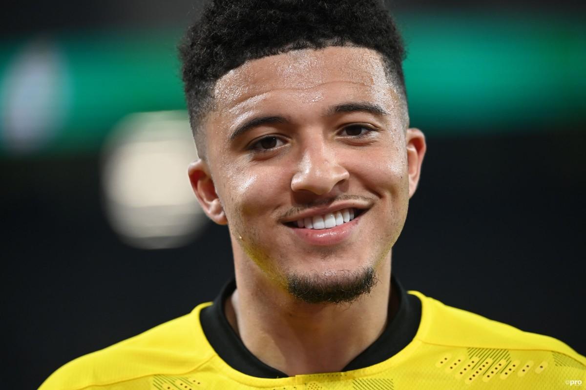 Jadon Sancho signs for Manchester United