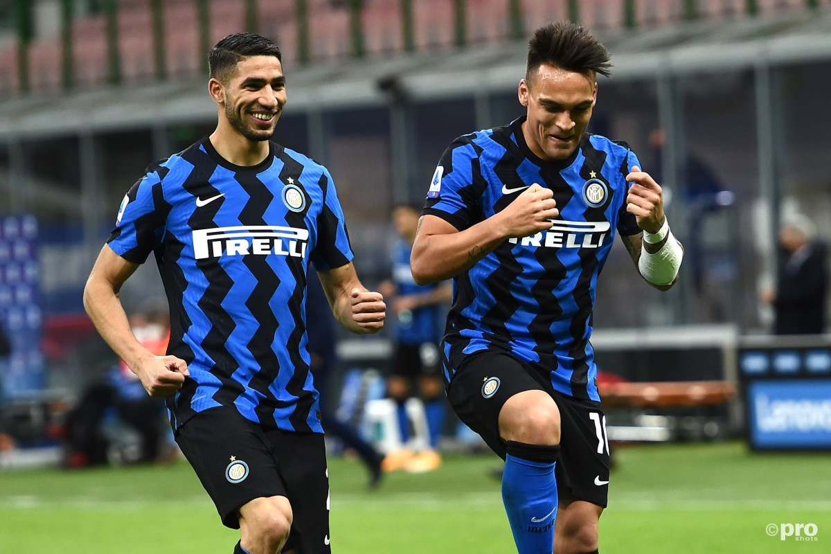 The agent of Lautaro Martinez and Achraf Hakimi suggests they both could leave Inter
