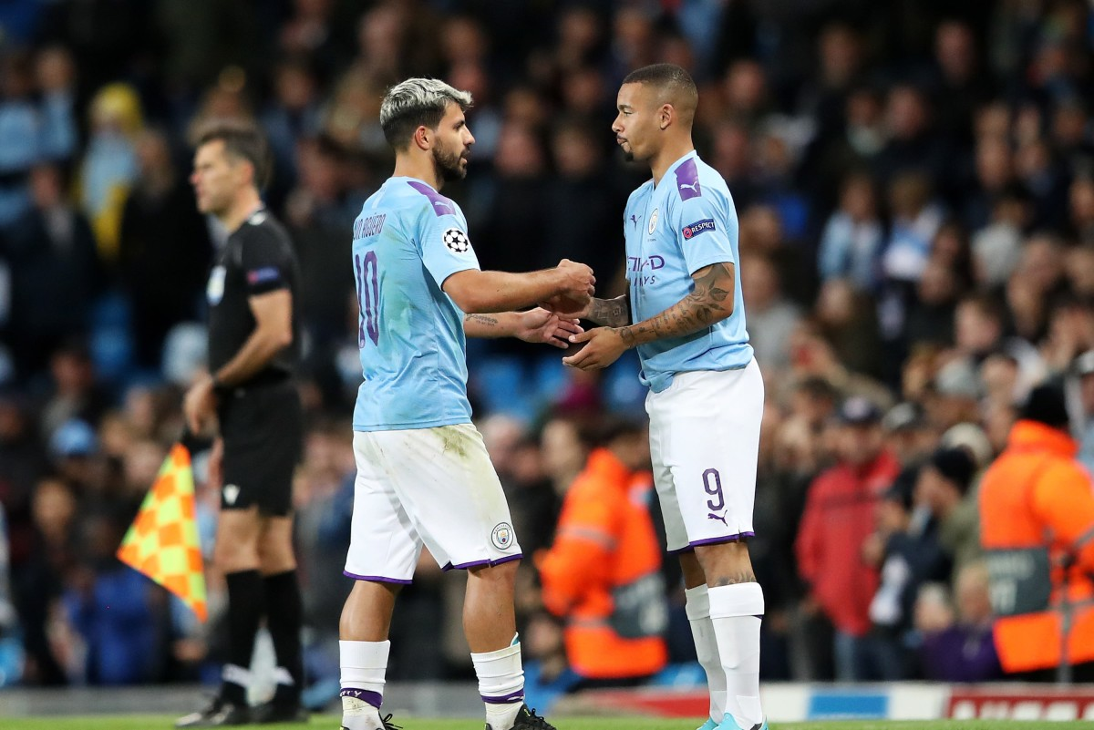 Gabriel Jesus hoping to become Sergio Aguero's replacement at Man City