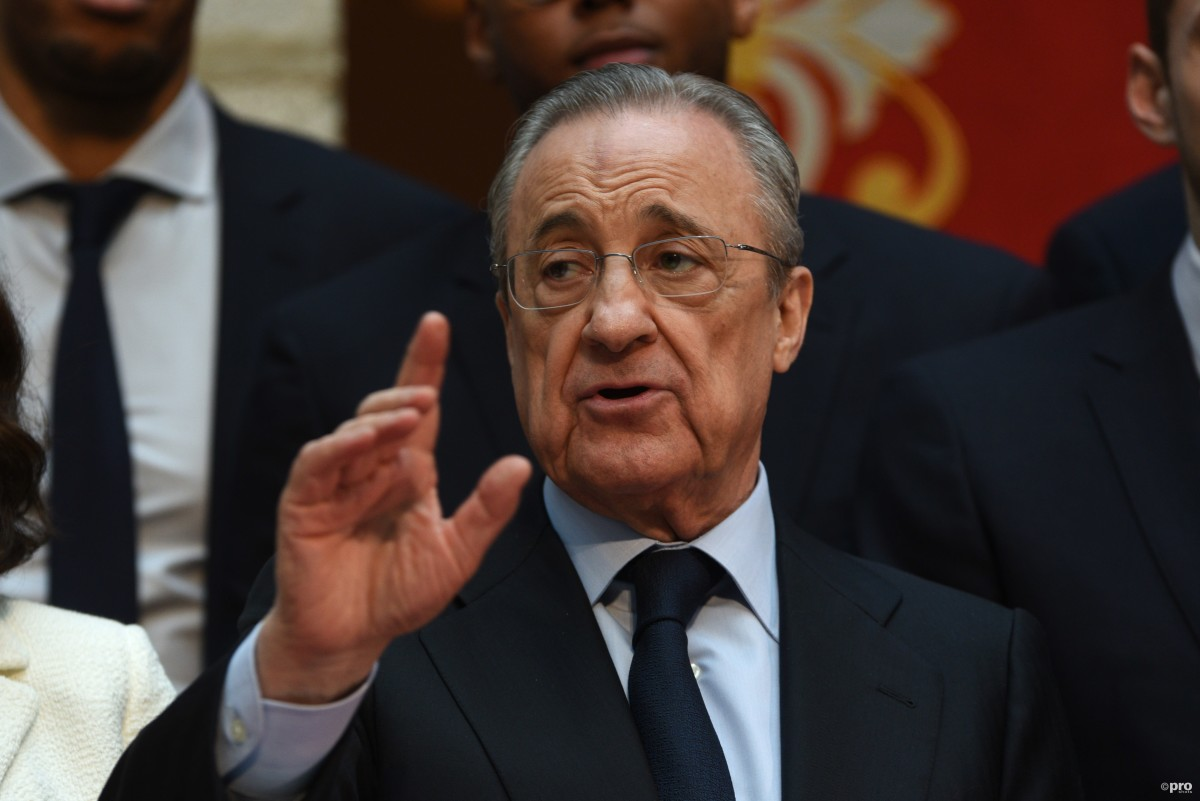 It is 'impossible' for Super League clubs to be banned from leagues, says Florentino Perez