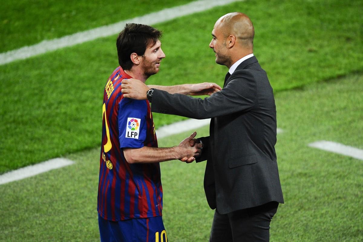Guardiola ignites reports of Messi reunion