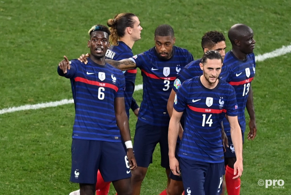 The families of Paul Pogba and Kylian Mbappe clashed with Adrien Rabiot's mother after Euro 2020 defeat to Switzerland