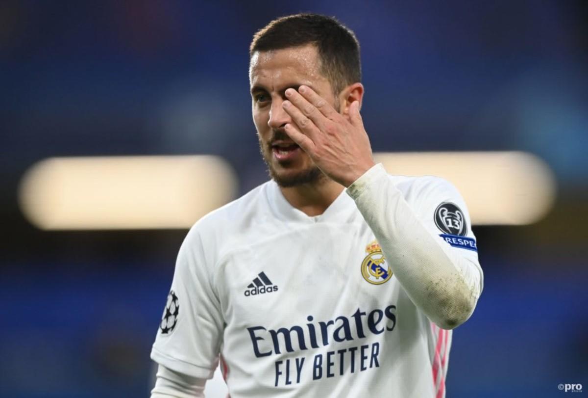 Eden Hazard has had two frustrating seasons