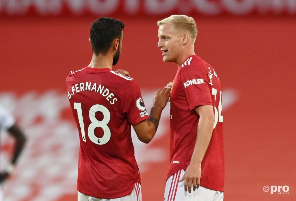 Van de Beek tops Man Utd list for players with the biggest loss percentage