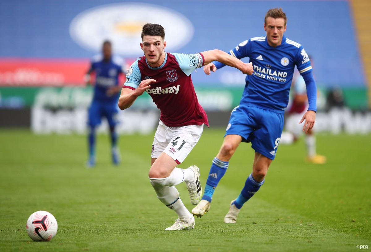 Lampard: Chelsea don't regret letting Declan Rice leave