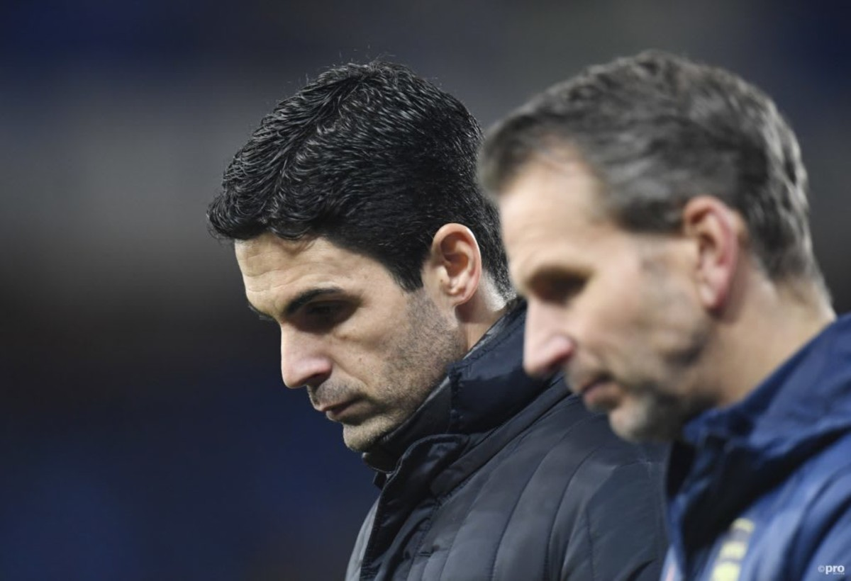 Arteta has come under fire at times as Arsenal boss