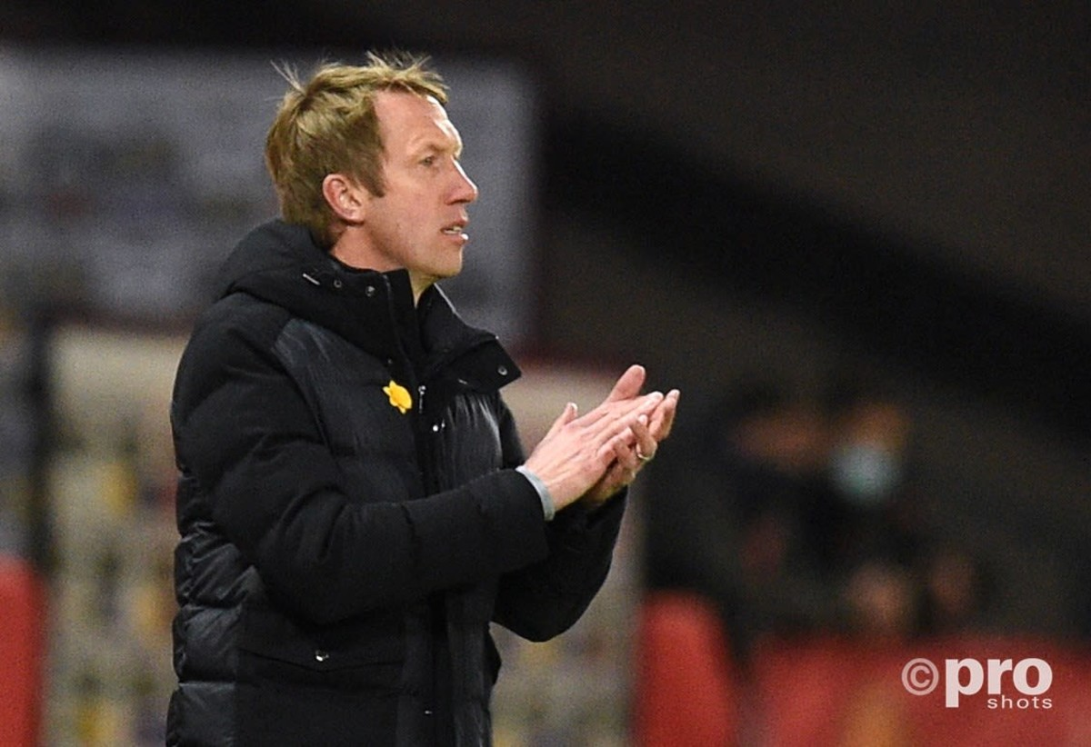 Graham Potter tipped for Arsenal or Tottenham job after impressing with Brighton