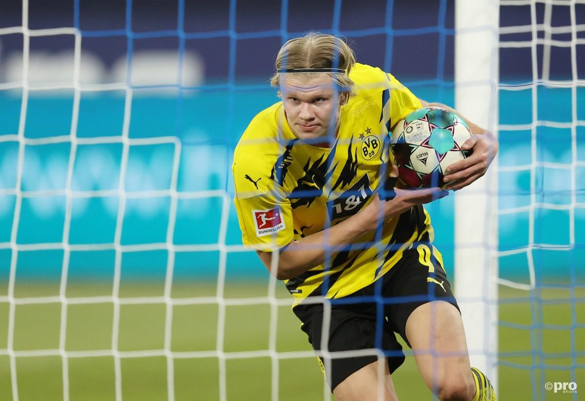 Dortmund confirm talks with Haaland agent Raiola amid Barcelona sighting