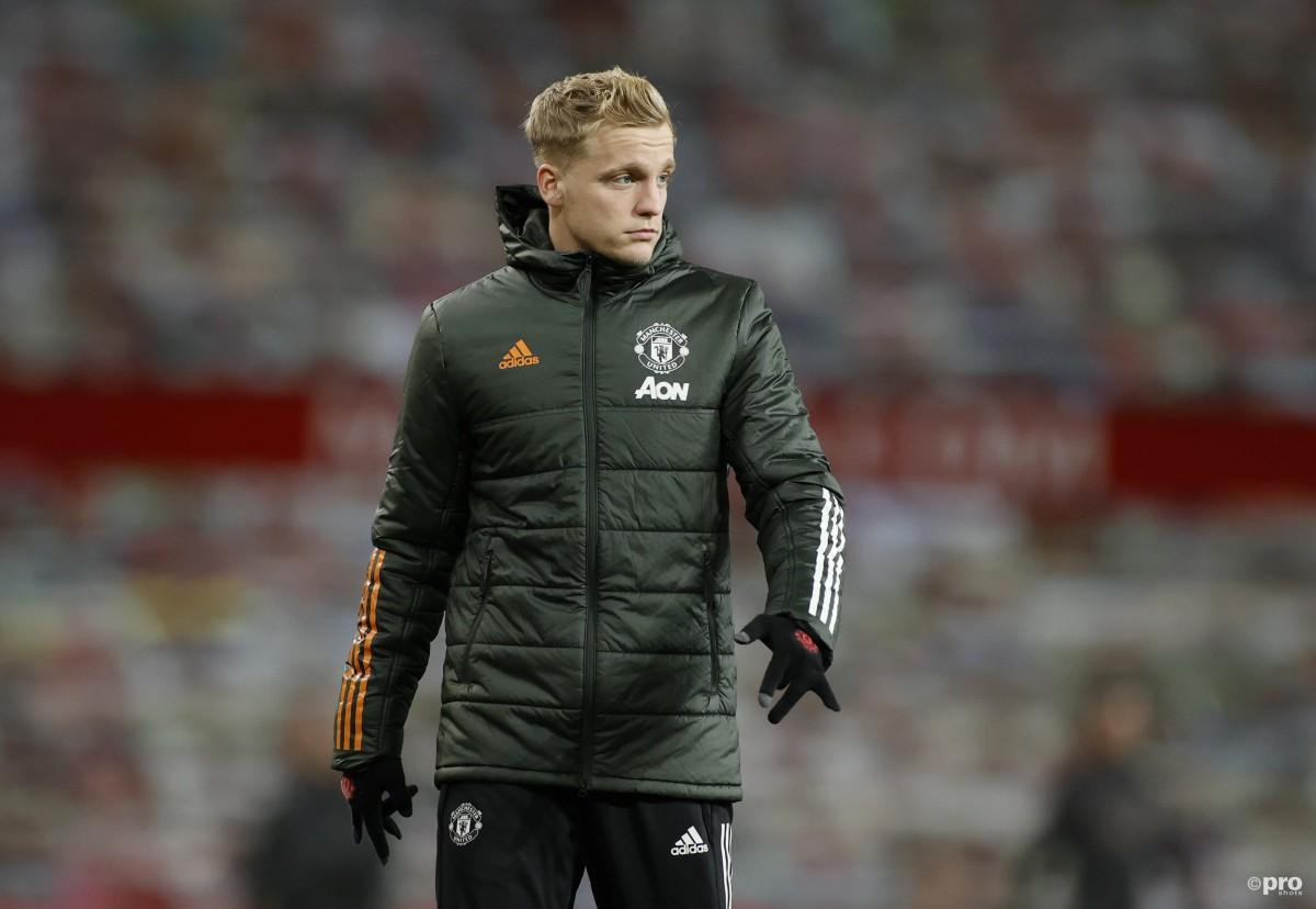 Van de Beek running out of time to save Man Utd career – Hughes