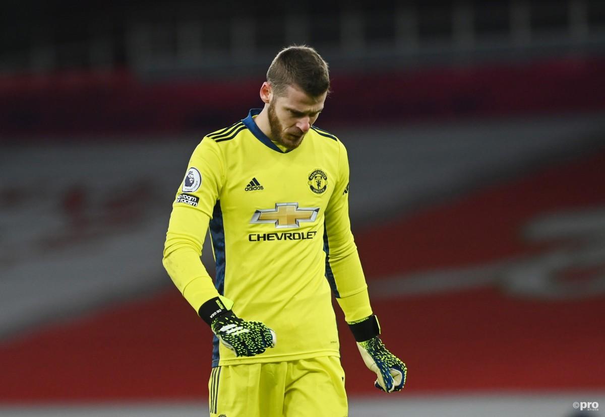 David de Gea is under pressure at Man Utd